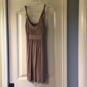 Brown Summer Dress - Medium